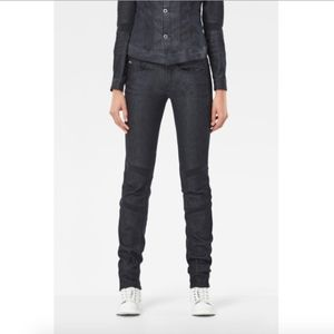G-STAR RAW Motac Deconstructed Mid Skinny Jeans
